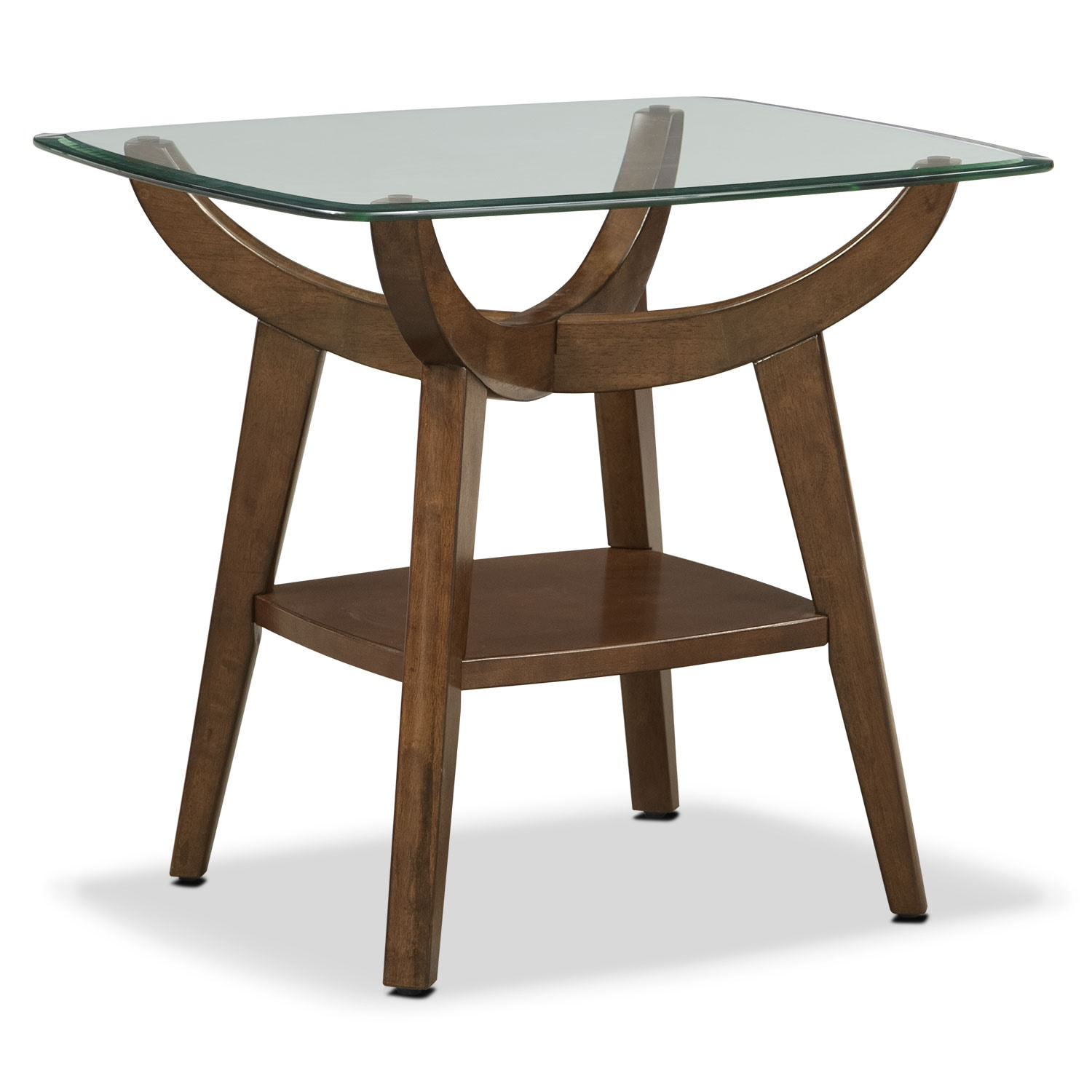 Accent and Occasional Furniture - Midtown End Table - Walnut
