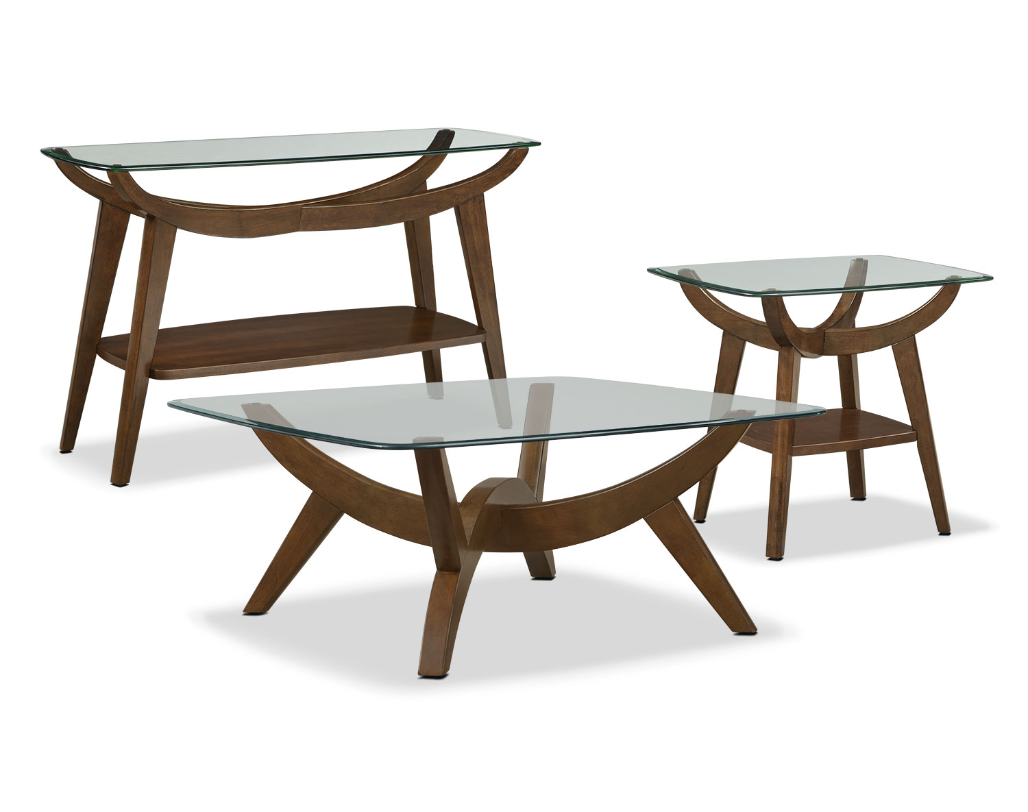 The Midtown Collection - Walnut