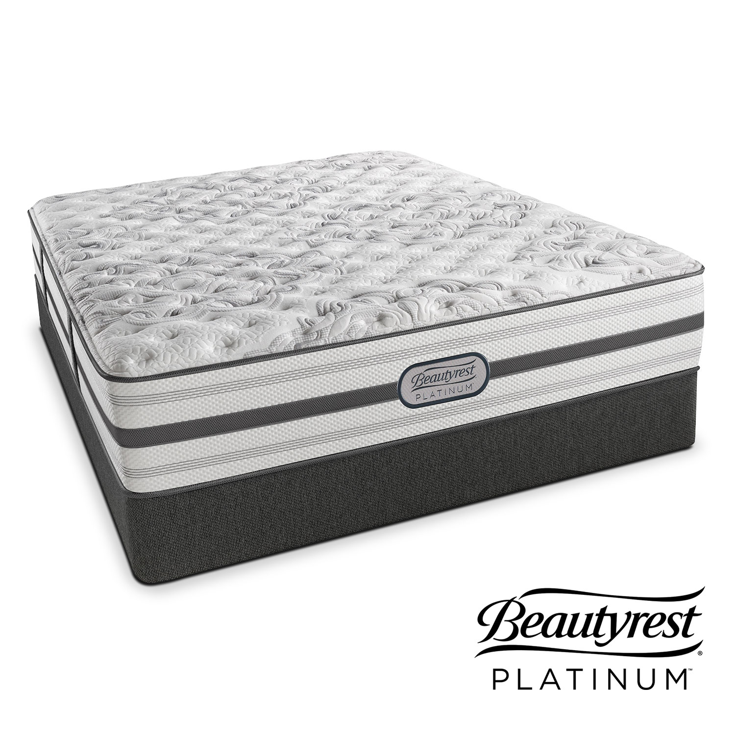 Mattresses and Bedding - Helena Queen Mattress/Low-Profile Foundation Set