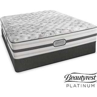 Helena Extra-Firm Queen Mattress and Low-Profile Foundation Set