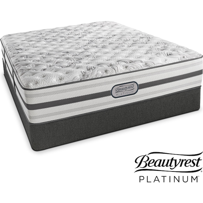 Mattresses and Bedding - Helena Extra-Firm California King Mattress and Split Foundation Set