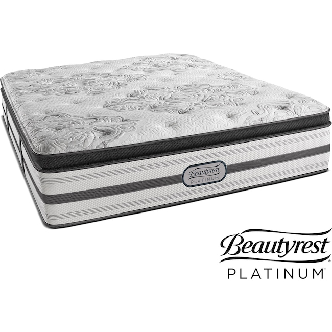 Mattresses and Bedding - Genevieve Plush Pillowtop Queen Mattress