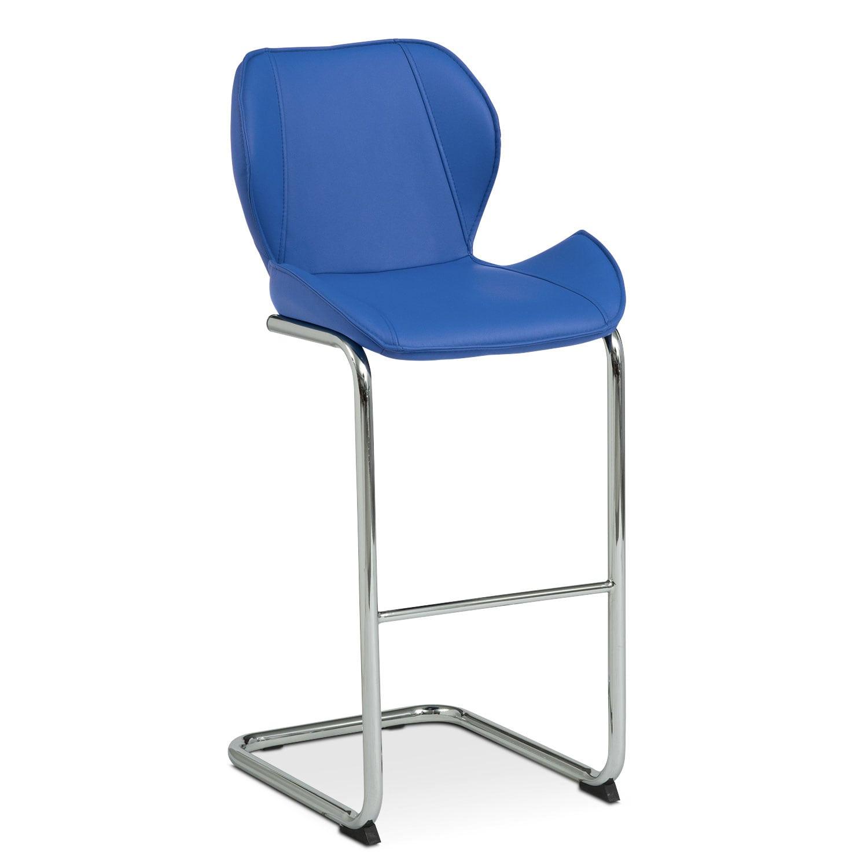 Dining Room Furniture - Metropolitan Barstool - Blue