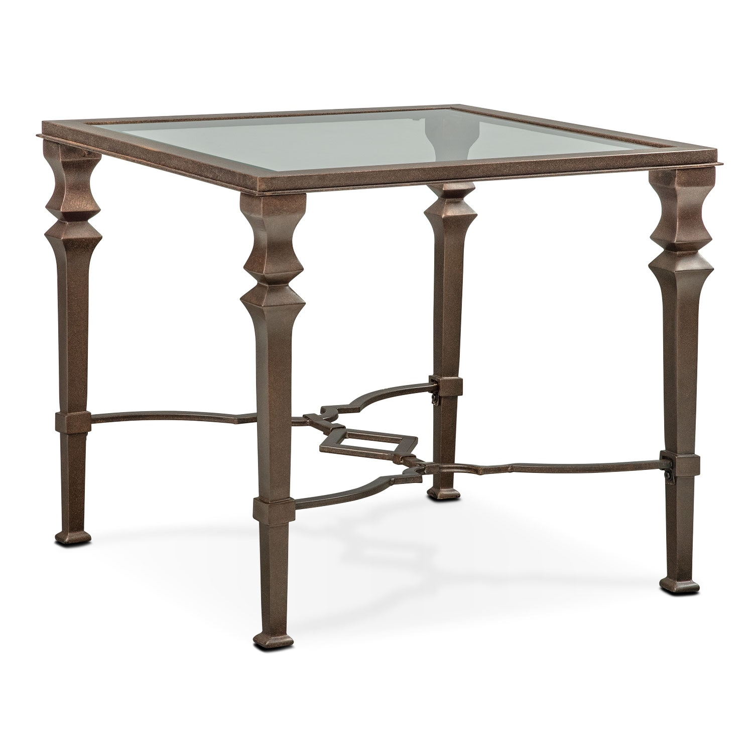 Accent and Occasional Furniture - Venue End Table - Bronze
