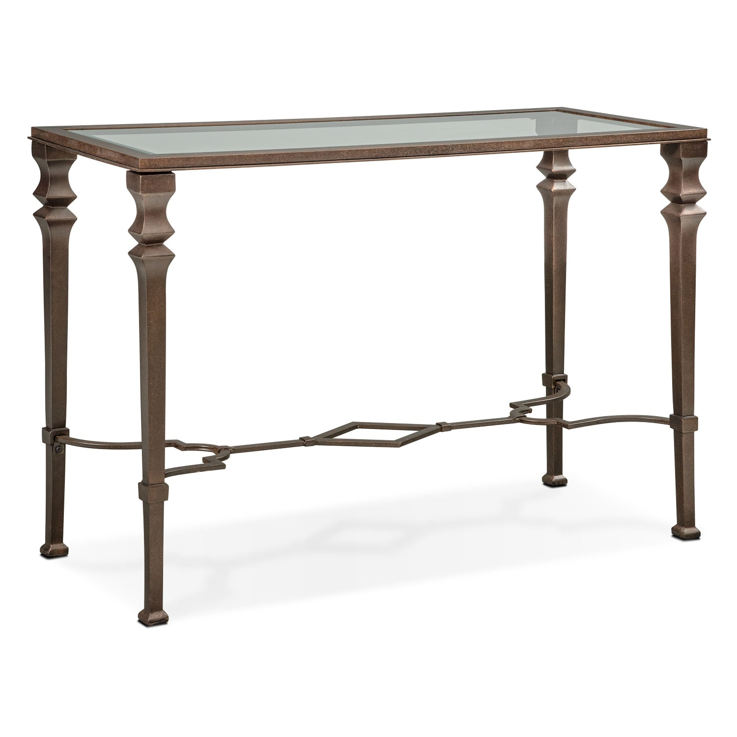 Accent and Occasional Furniture - Venue Sofa Table - Bronze