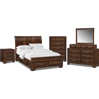 The Sanibelle Collection - Mahogany