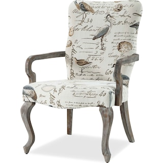 Camden Accent Chair - Cream