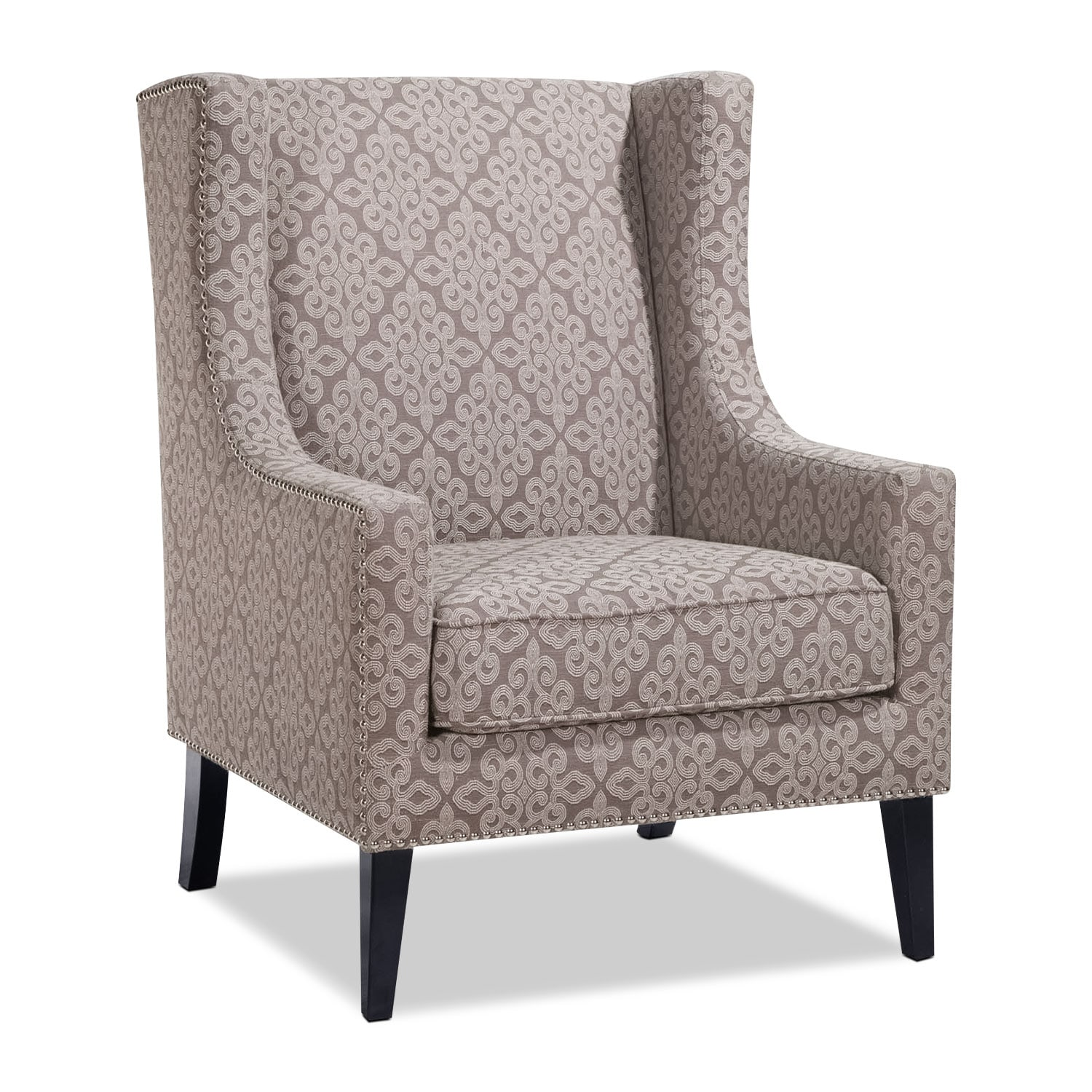 Blythe Accent Chair - Gray