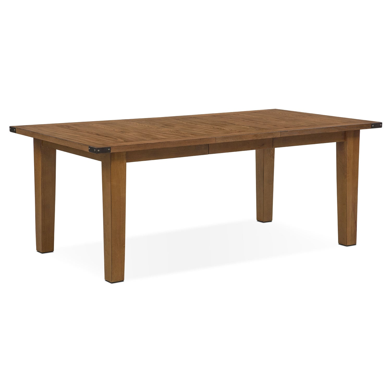 Dining Room Furniture - Salem Dining Table - Pecan