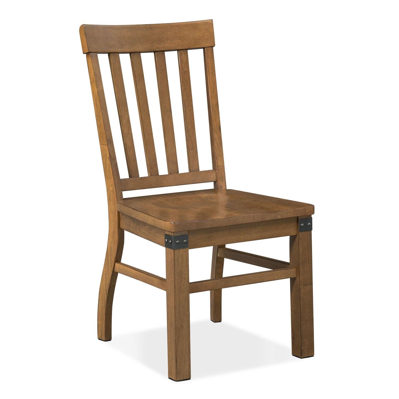 Dining Room Furniture - Salem Side Chair - Pecan