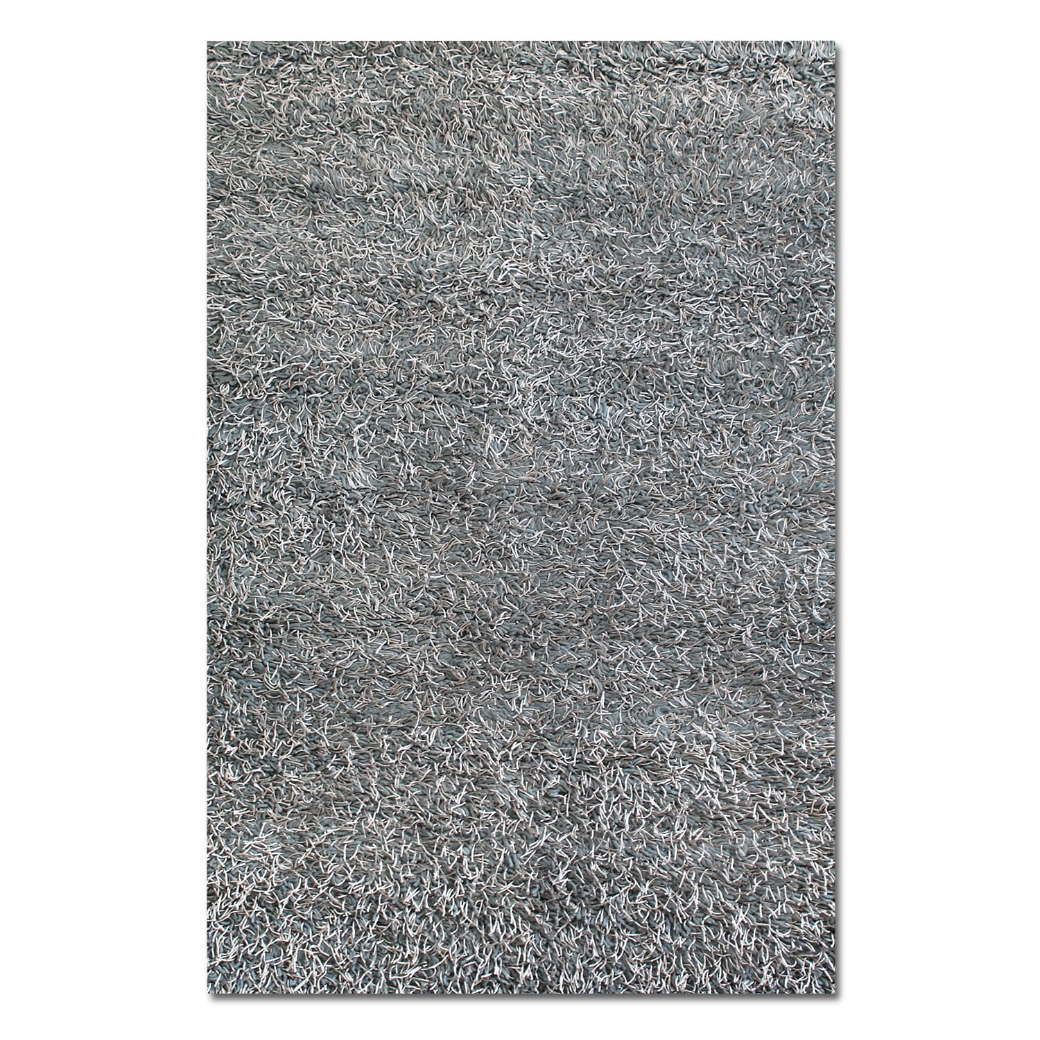 Rugs - Lifestyle Steel Shag Area Rug (8' x 10')