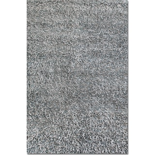 Lifestyle Shag 8' x 10' Area Rug - Steel