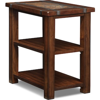Slate Ridge Chairside Table - Cherry