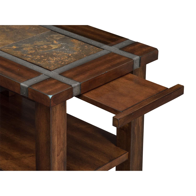 Slate Ridge Chairside Table - Cherry