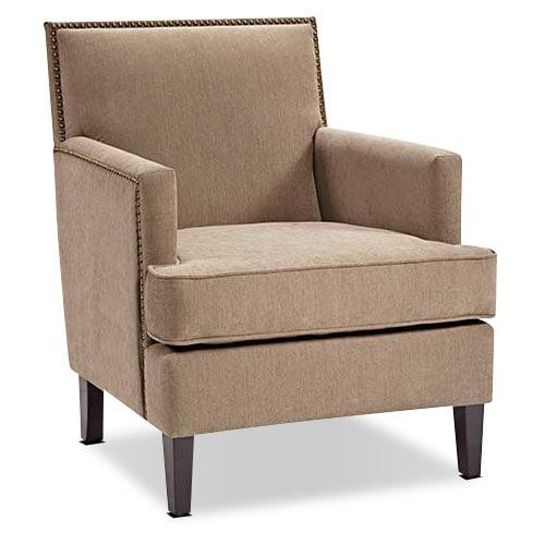 [Evanston Accent Chair - Beige]