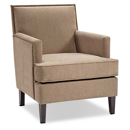 Living Room Furniture - Evanston Accent Chair - Beige