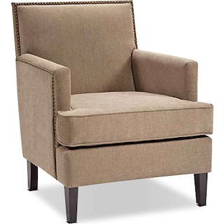 Evanston Accent Chair - Beige
