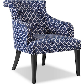 Hampton Accent Chair - Blue
