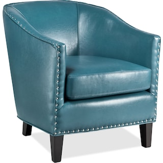 Ada Accent Chair - Blue