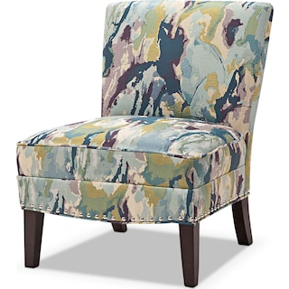 Cami Accent Chair - Watercolor