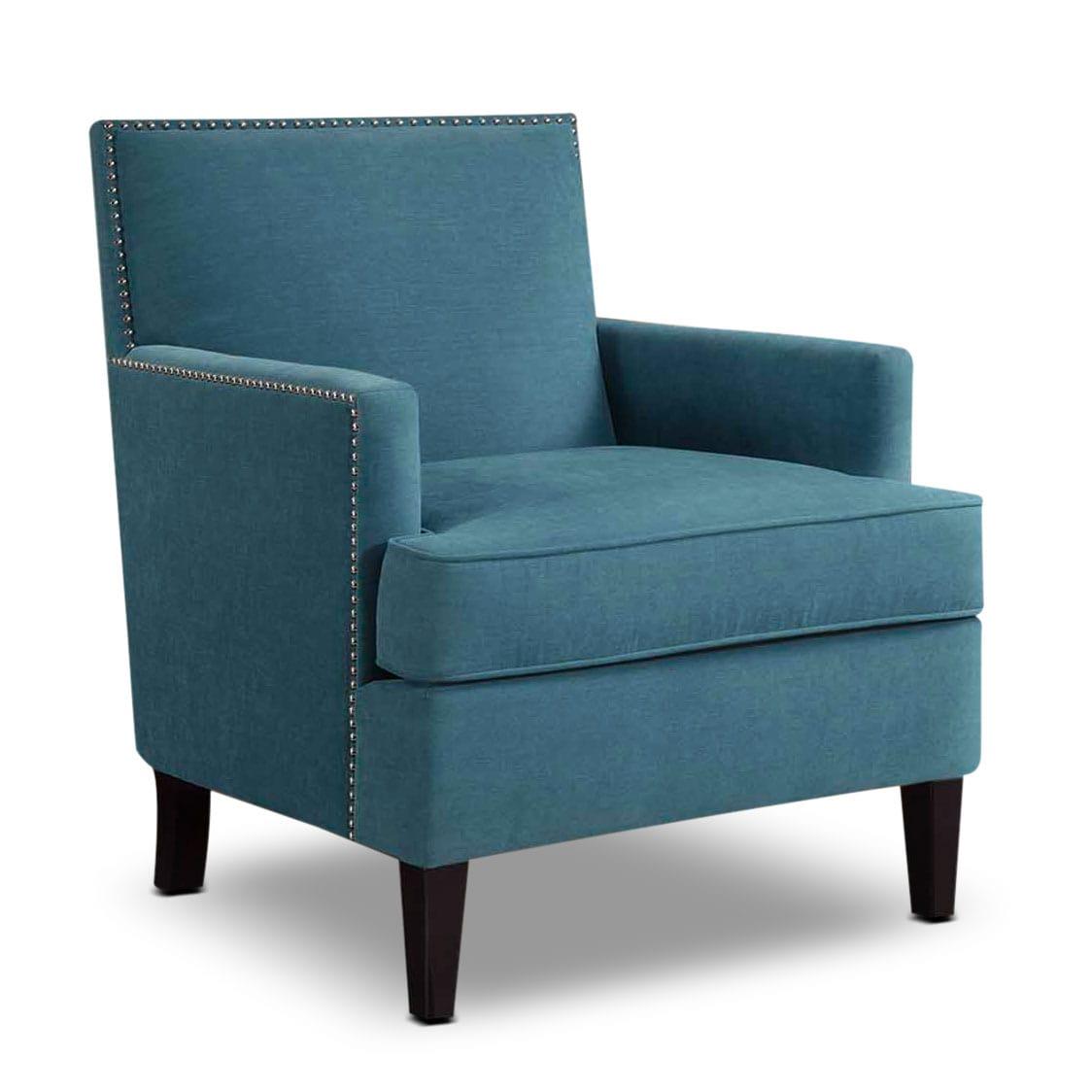 Astrid accent chair blue