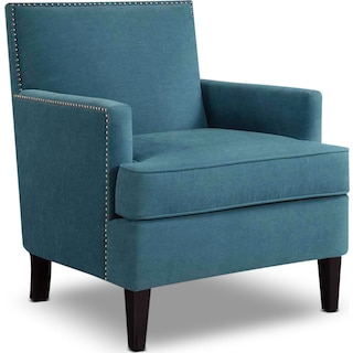 Astrid Accent Chair - Blue