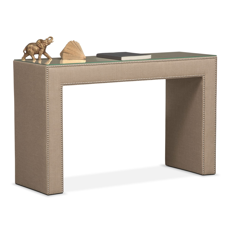 Nyla Vanity Desk - Natural Linen