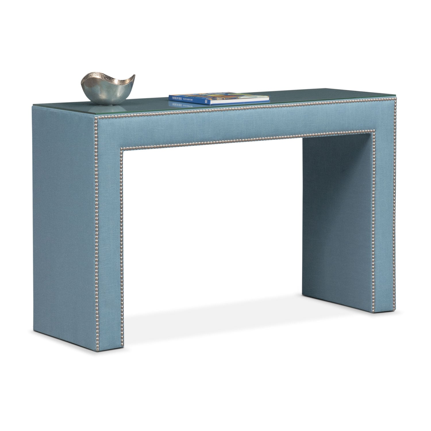 Bedroom Furniture - Nyla Vanity Desk - Teal