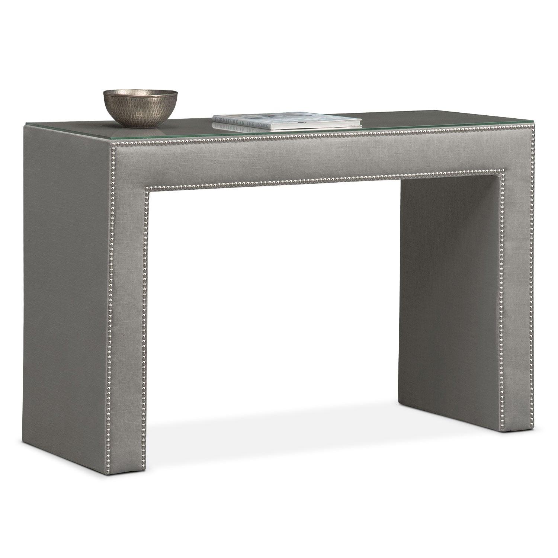 Bedroom Furniture - Nyla Vanity Desk - Granite