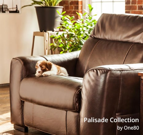 Shop the Palisade Brown Power Recliner