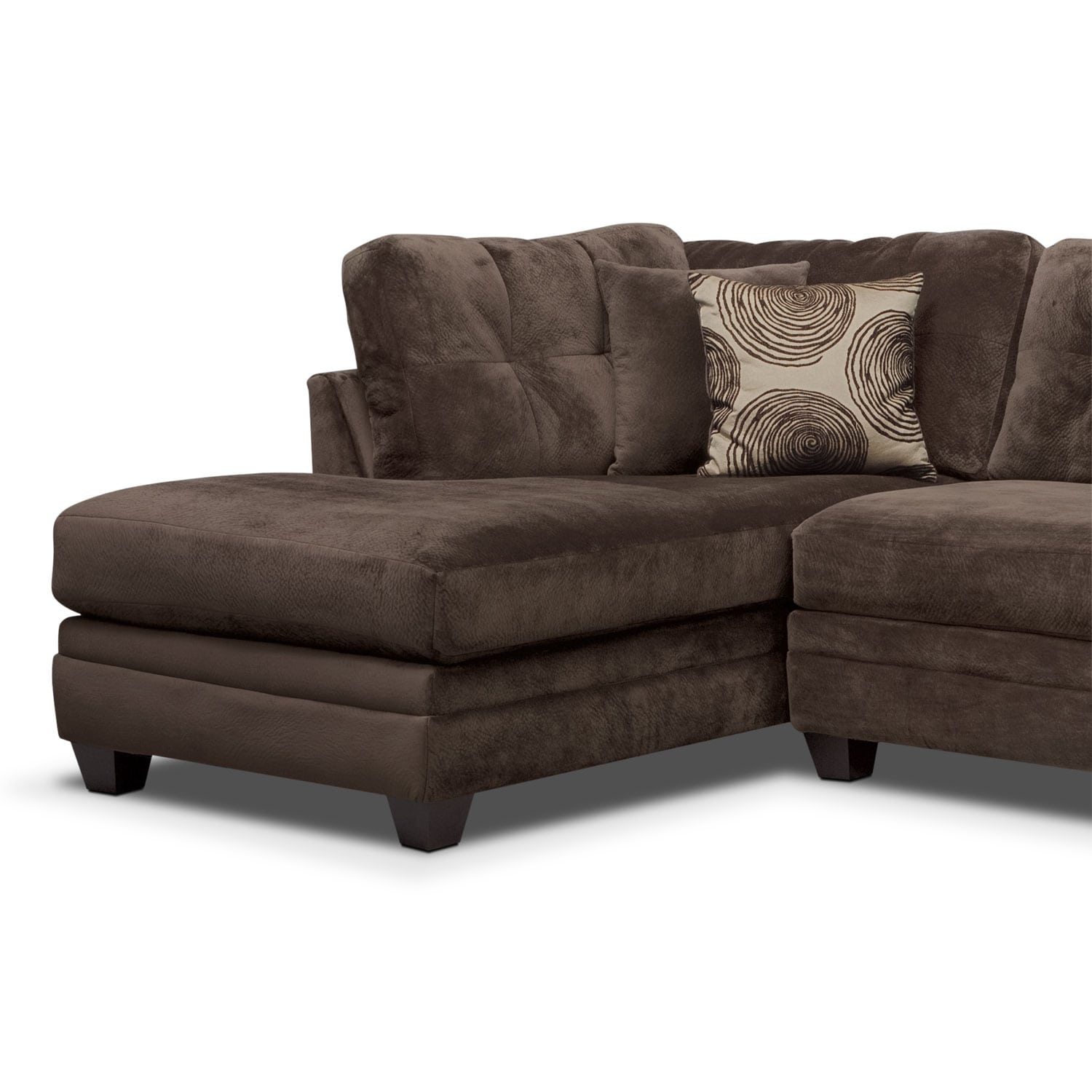 Chocolate Chaise 28 Images Monterey 3 Piece Power Reclining Sectional With Left Hollywood