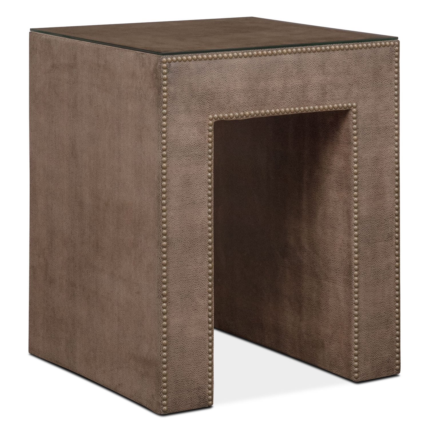 Nyla Nightstand - Brown