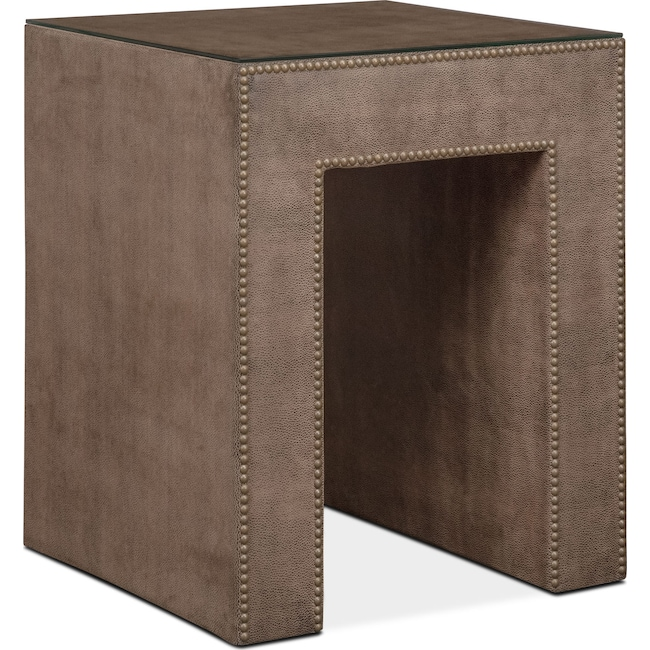 Bedroom Furniture - Nyla Nightstand - Brown