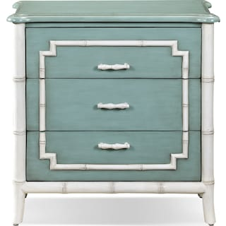 Hines Accent Drawer Chest - Seafoam