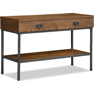 Shipyard Sofa Table - Nutmeg