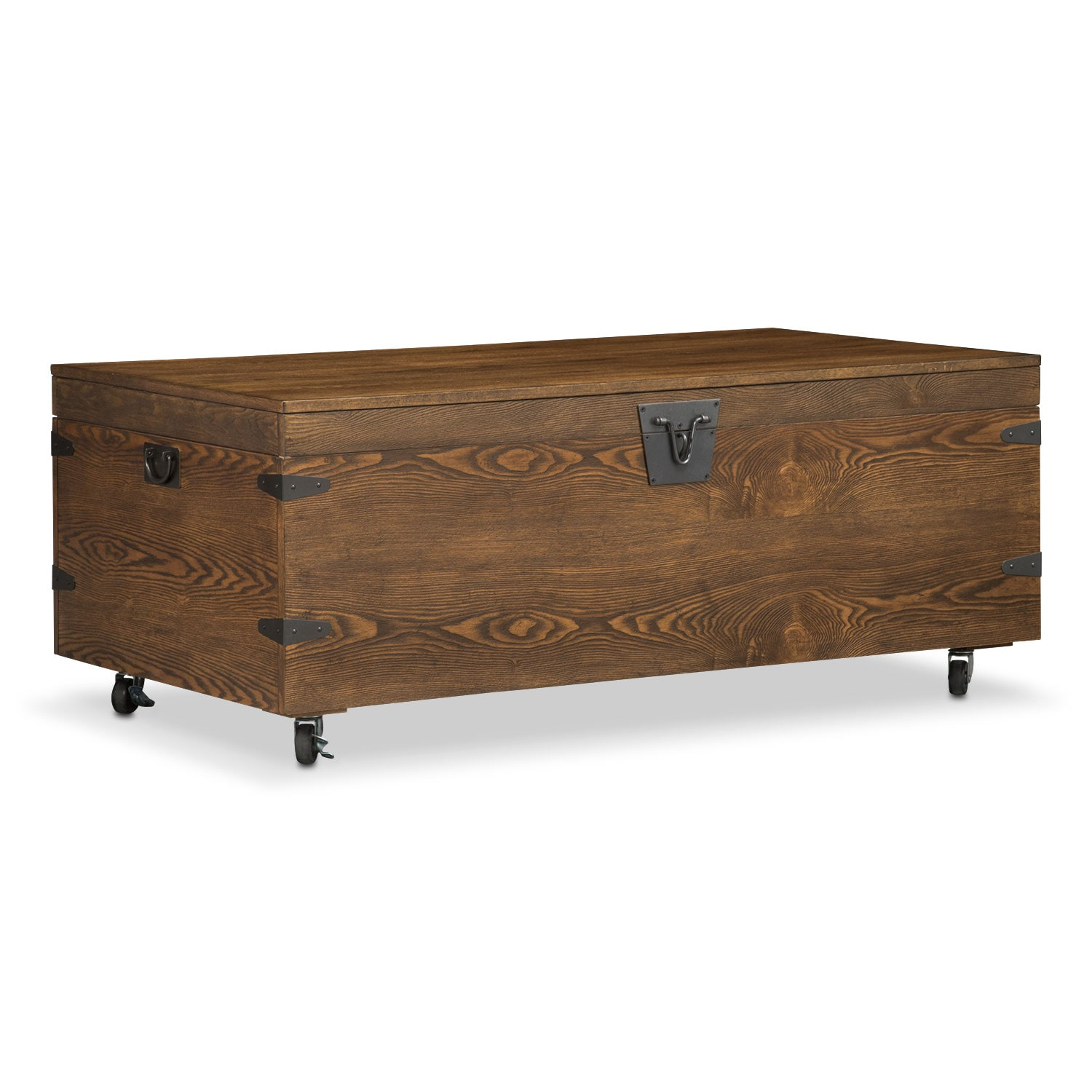 Shipyard Trunk Cocktail Table - Nutmeg