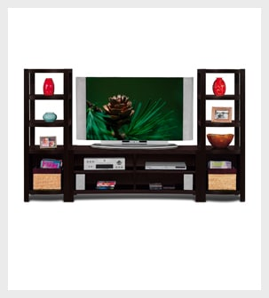 Shop the Townsend 3 piece Entertainment wall unit