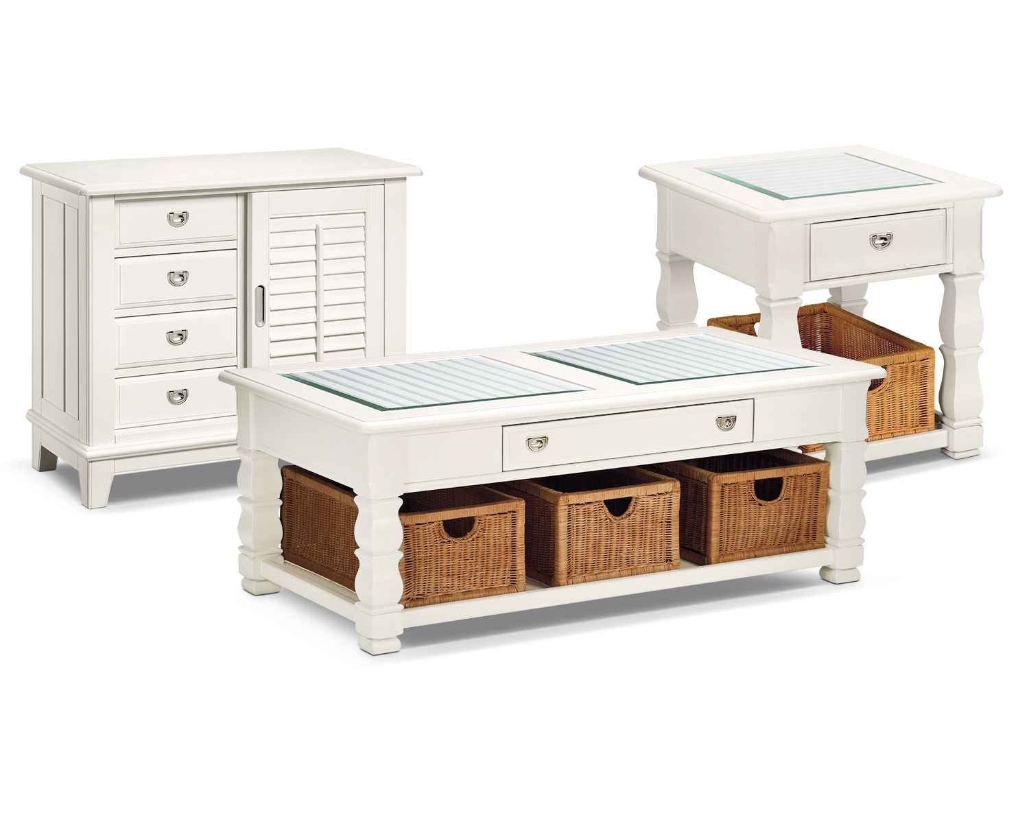 The Plantation Cove Collection - White