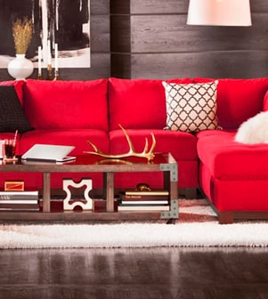 Read tips for chosing a sofa or sectional for your space