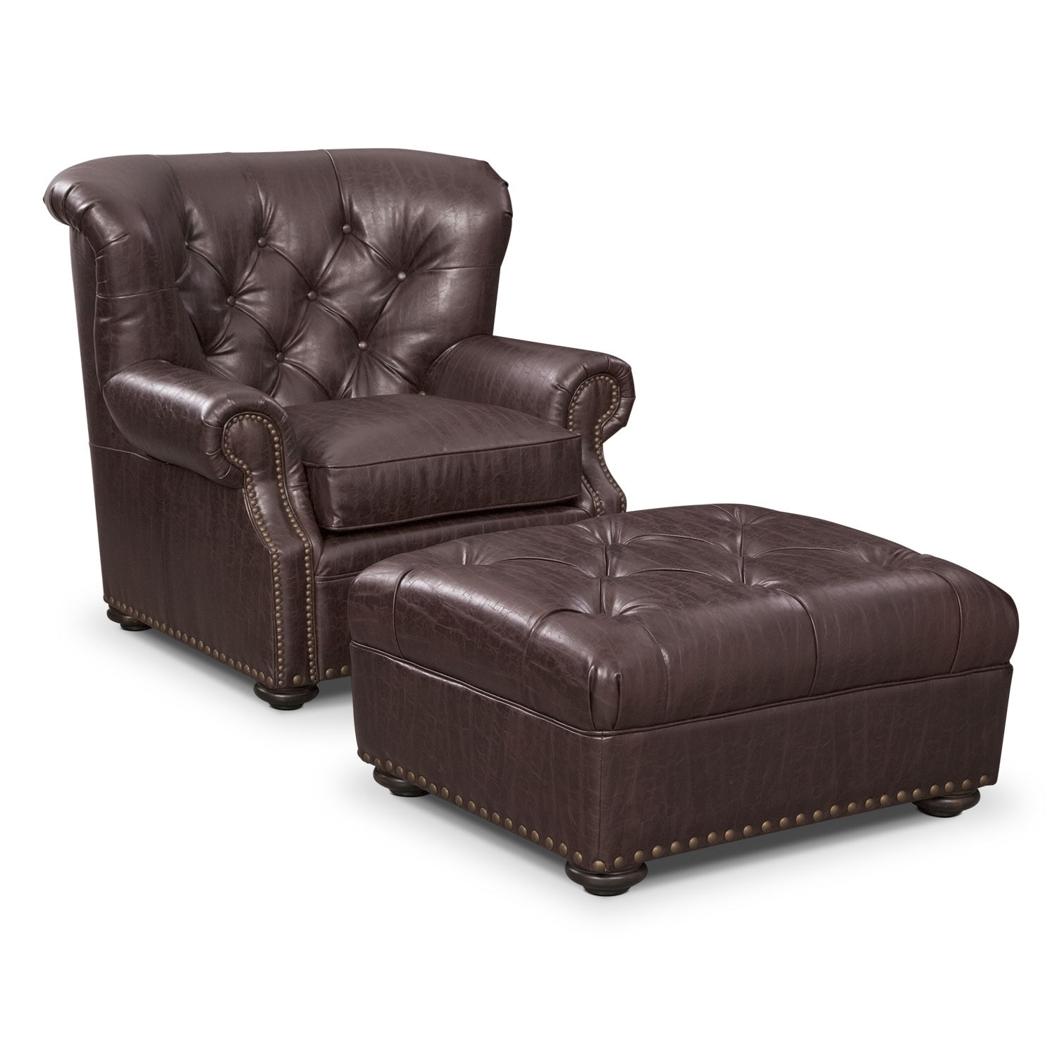 Cabot Chair and Ottoman