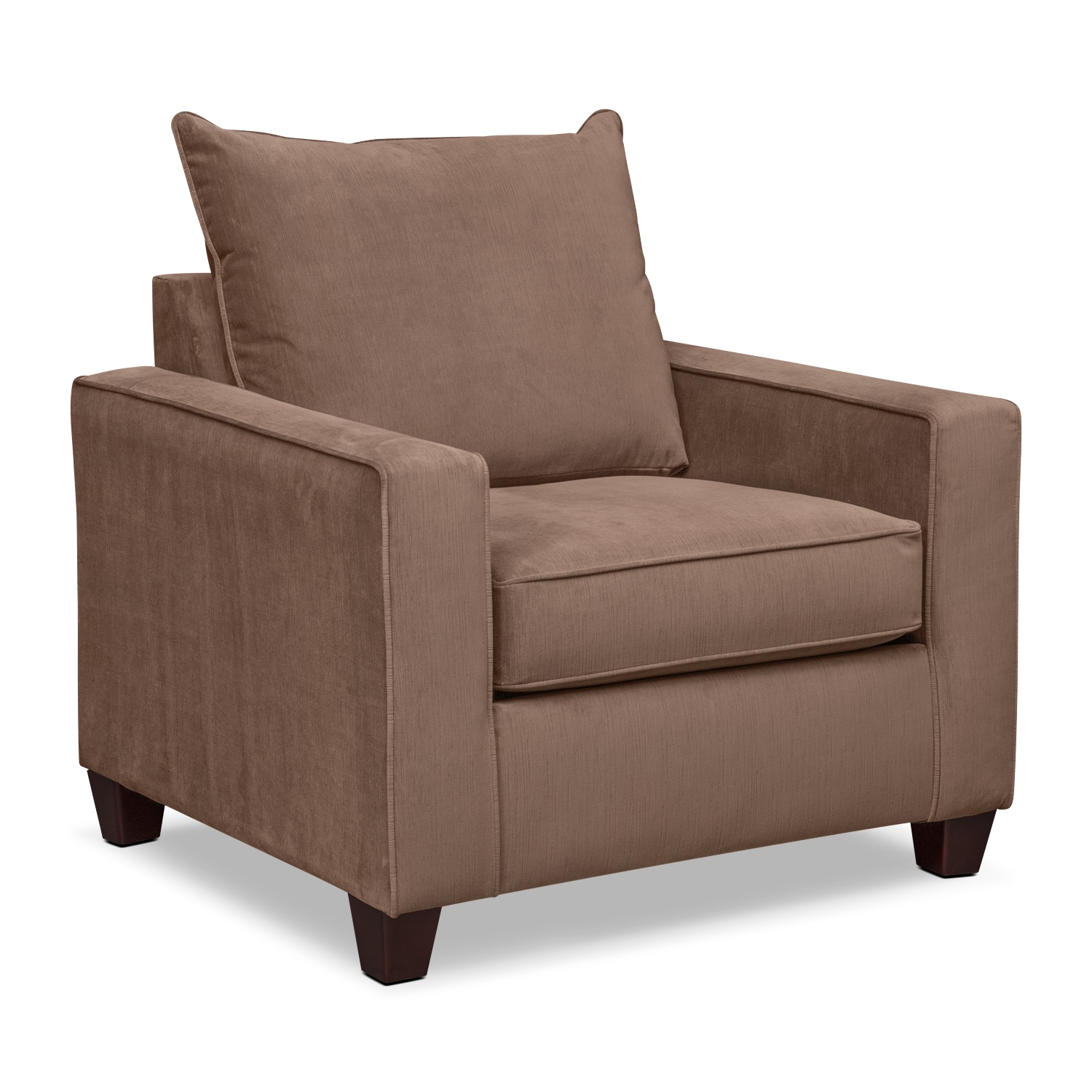 Living Room Furniture - Bryden Chair - Chocolate