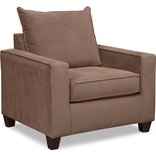 Bryden Queen Innerspring Sleeper Sofa Loveseat and Chair Set Chocolate