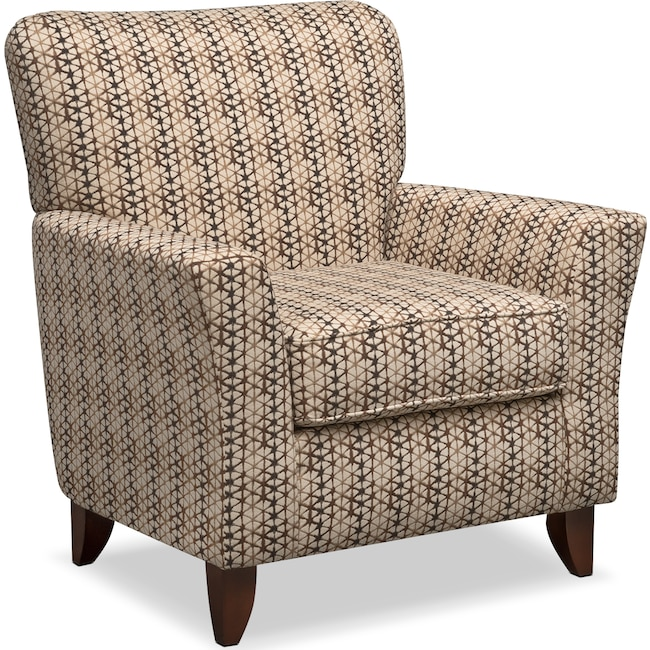 Living Room Furniture - Bryden Accent Chair - Chocolate