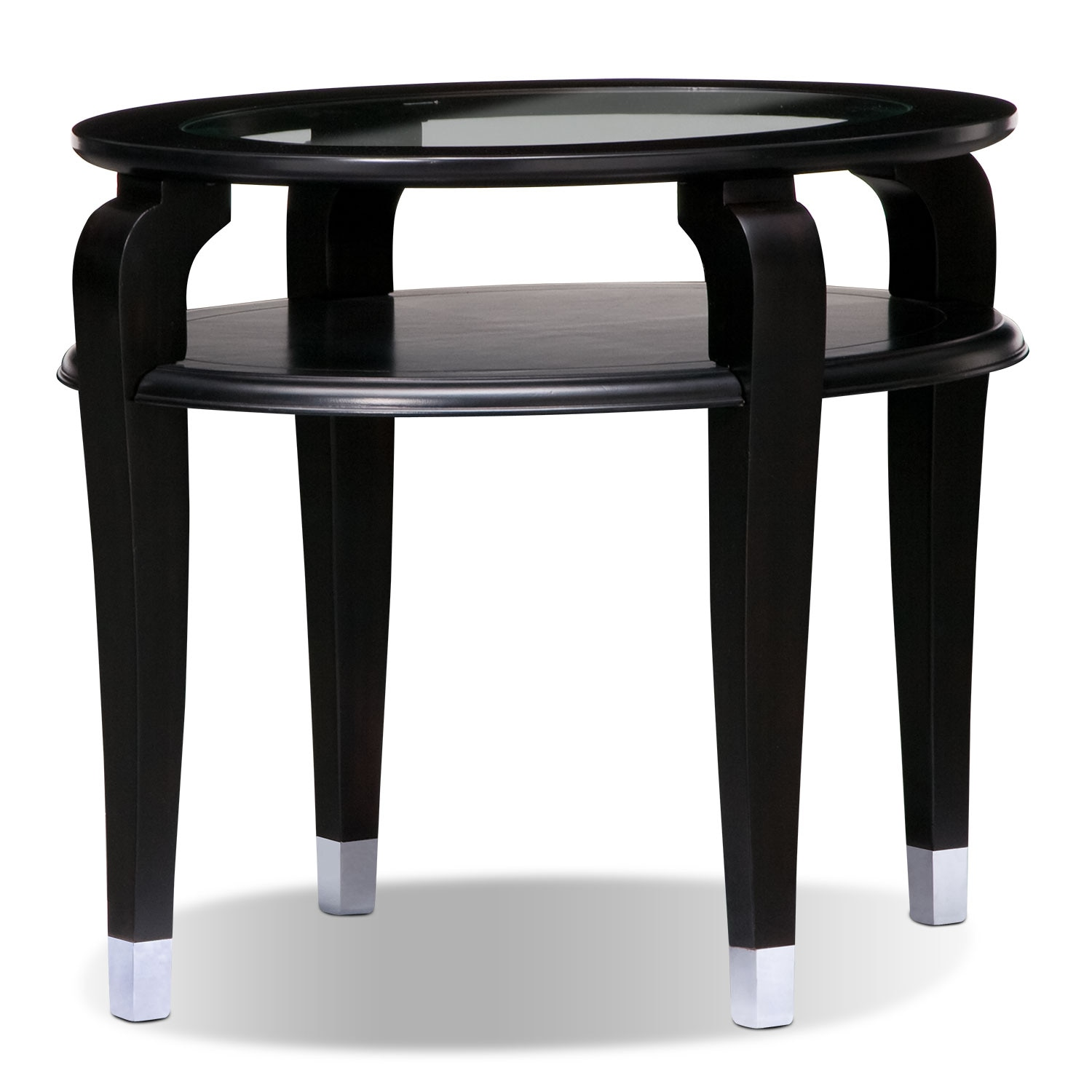 Accent and Occasional Furniture - Eden End Table - Black Cherry