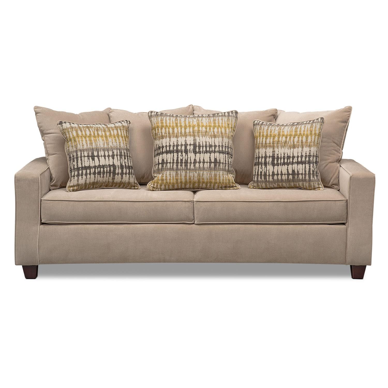 Bryden Sofa Beige American Signature Furniture