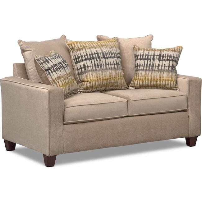 Living Room Furniture - Bryden Loveseat