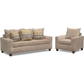 Bryden Sofa and Chair Set