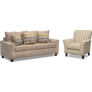 Bryden Sofa and Accent Chair Set