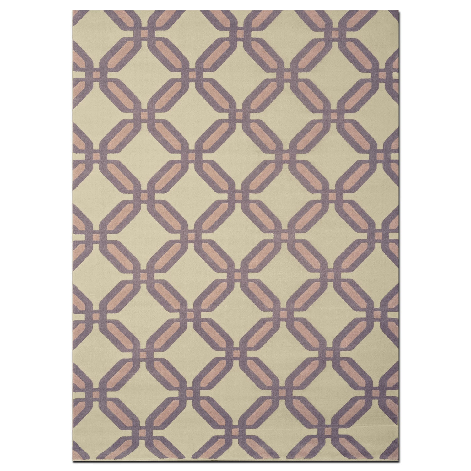 Rugs - Broadway 8' x 10' Area Rug - Gray and Beige