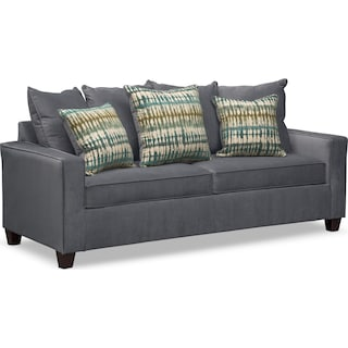Bryden Queen Memory Foam Sleeper Sofa - Slate
